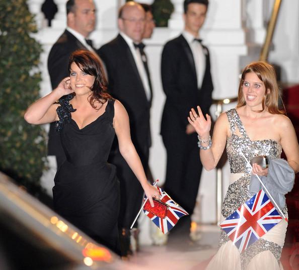 Princesses Beatrice & Princess Eugenie At Pre Royal