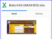 Download Aplikasi Buku Kas Umum [Gratis]