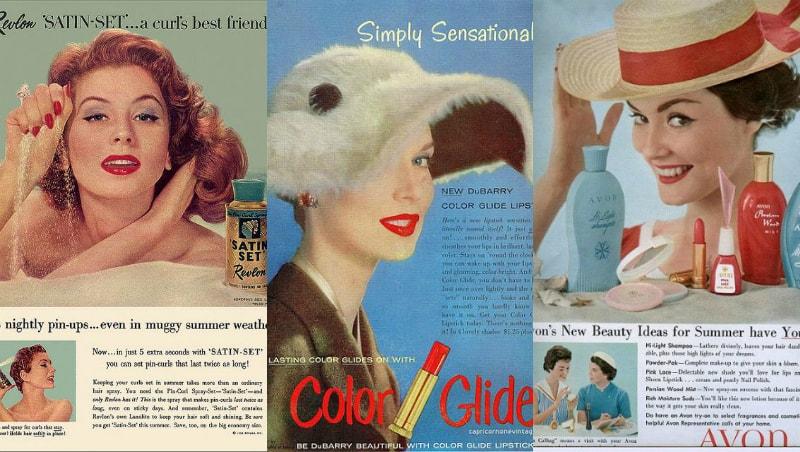 1950 makeup brand