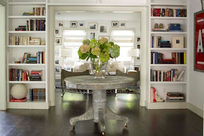 Amagansett Modern entry way Design via Belle Vivir Blog