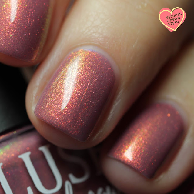 BLUSH Lacquers Marin Bering swatch by Streets Ahead Style