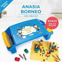 Dusdusan Anasia Borneo Kids Table Set ANDHIMIND