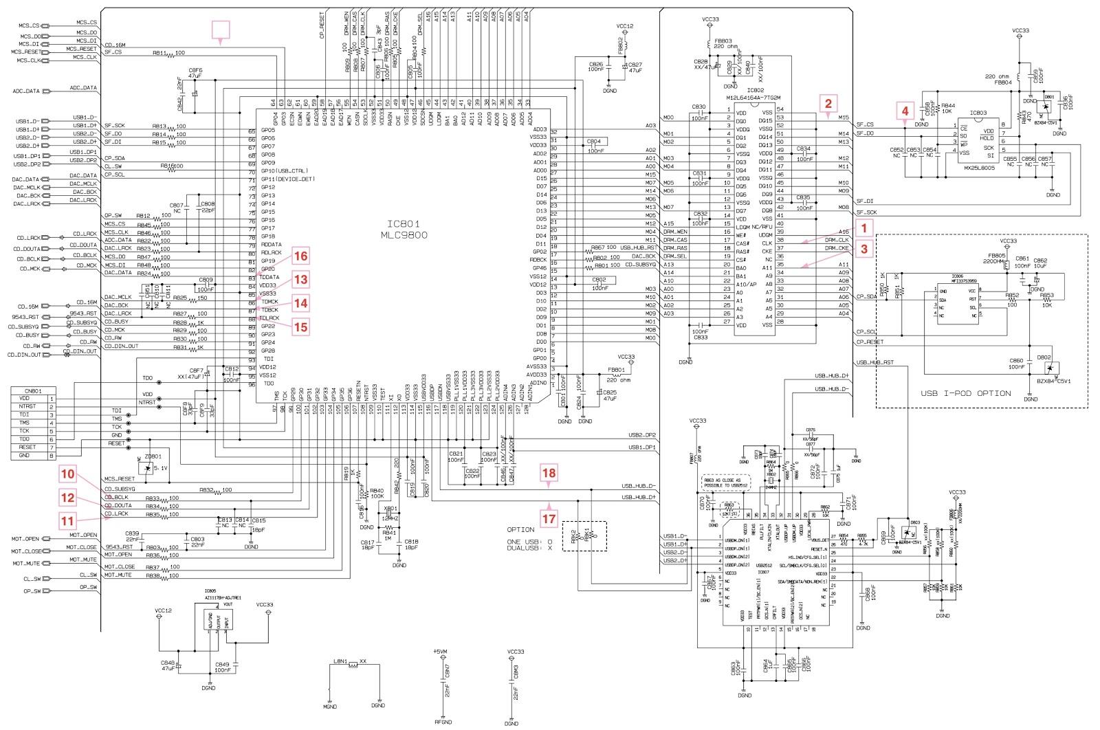 Lg Cm Cm Cms F Mini Hi Fi System Circuit