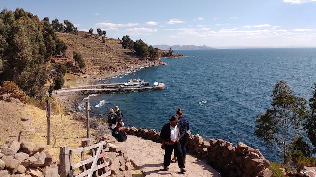 Isla de Taquile Lago Titicaca, Perú