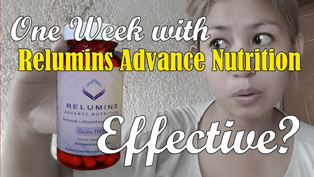 Relumins Advance Nutrition Gluta-1000 Review