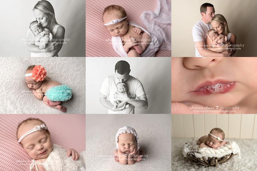 eugene oregon newborn family photographer