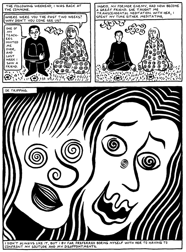 Read Chapter 7 - Hide and Seek, page 64, from Marjane Satrapi's Persepolis 2 - The Story of a Return