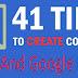 41 Cara Menulis Artikel Blog Yang Seo Dan Disukai Google