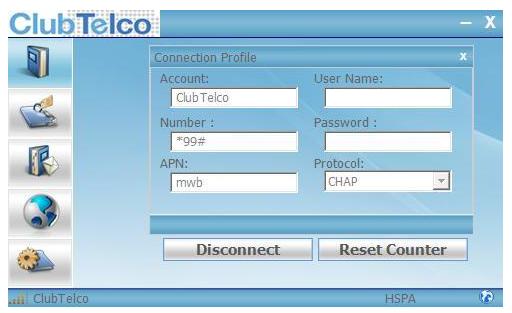 Club telco Mobile Broadband iPad