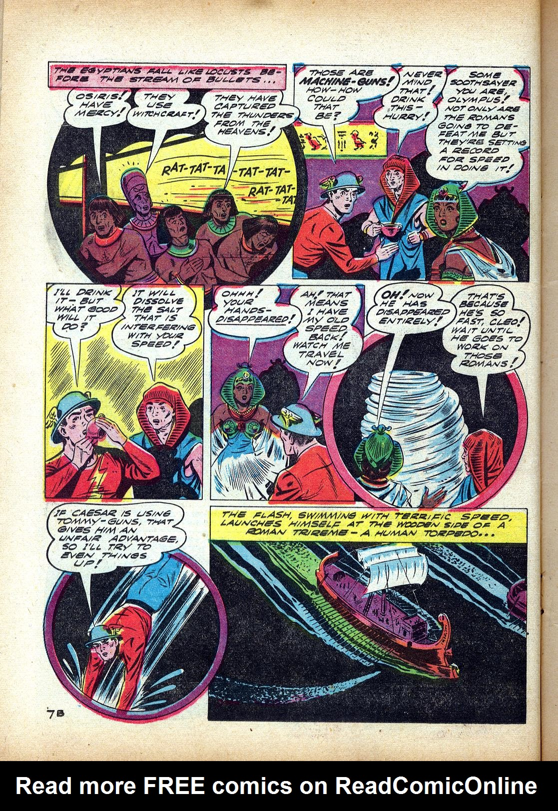 Read online All-Flash comic -  Issue #4 - 25