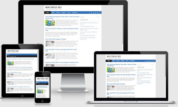 New Thesis SEO 2016 Responsive Blogger Templates