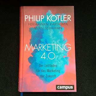 """Das Buch """"Marketing 4.0"""" von Philip Kotler"""