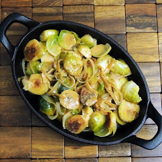 White Wine Braised Brussels Sprouts from www.bobbiskozykitchen.com
