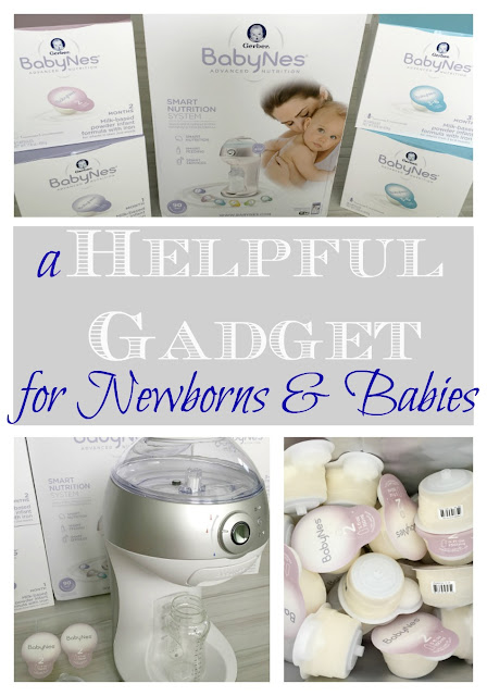 If you or someone you know is having a new baby soon, check this awesome & helpful baby gadget out! Gerber® BabyNes®