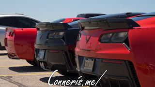 C5-7-7 Chevrolet Corvettes Rear Angle