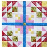 Free Golden Eye Quilt Pattern Block Tutorial by The Quilt Ladies