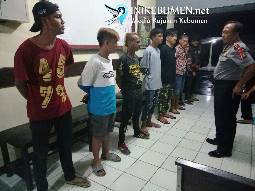 Pesta Miras, Enam Pemuda Digiring ke Polsek Karanganyar