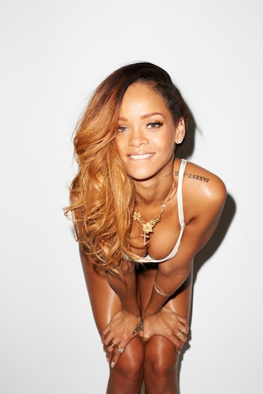 Rihanna Reveals New Private Tattoos In Rolling Stone ...