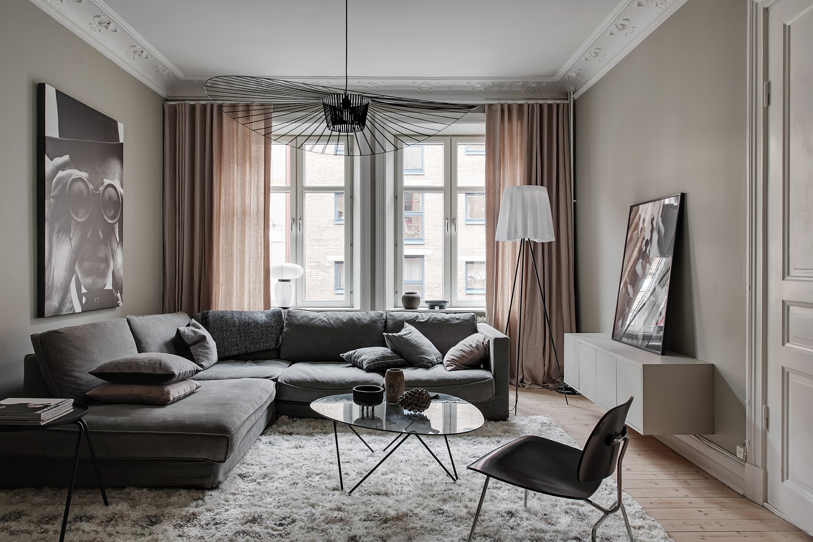 Appartamento scandinavo in grigio beige | ARC ART blog by Daniele Drigo