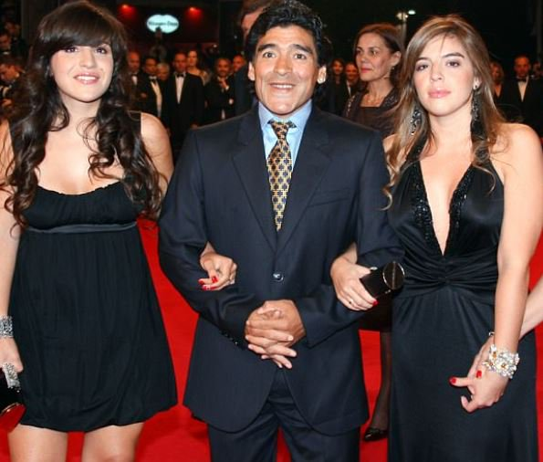Diego Maradona wants his daughter to be jailed after accusing her of plotting to steal £3.4million from him