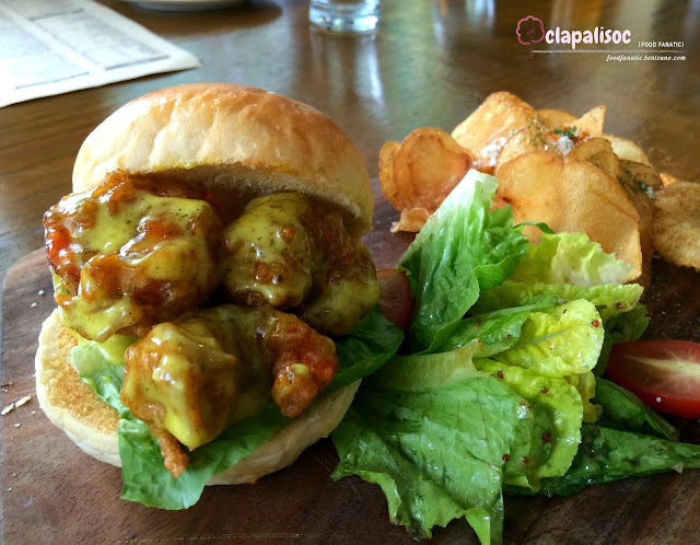 Shrimp Po Boy from Single Origin Rockwell