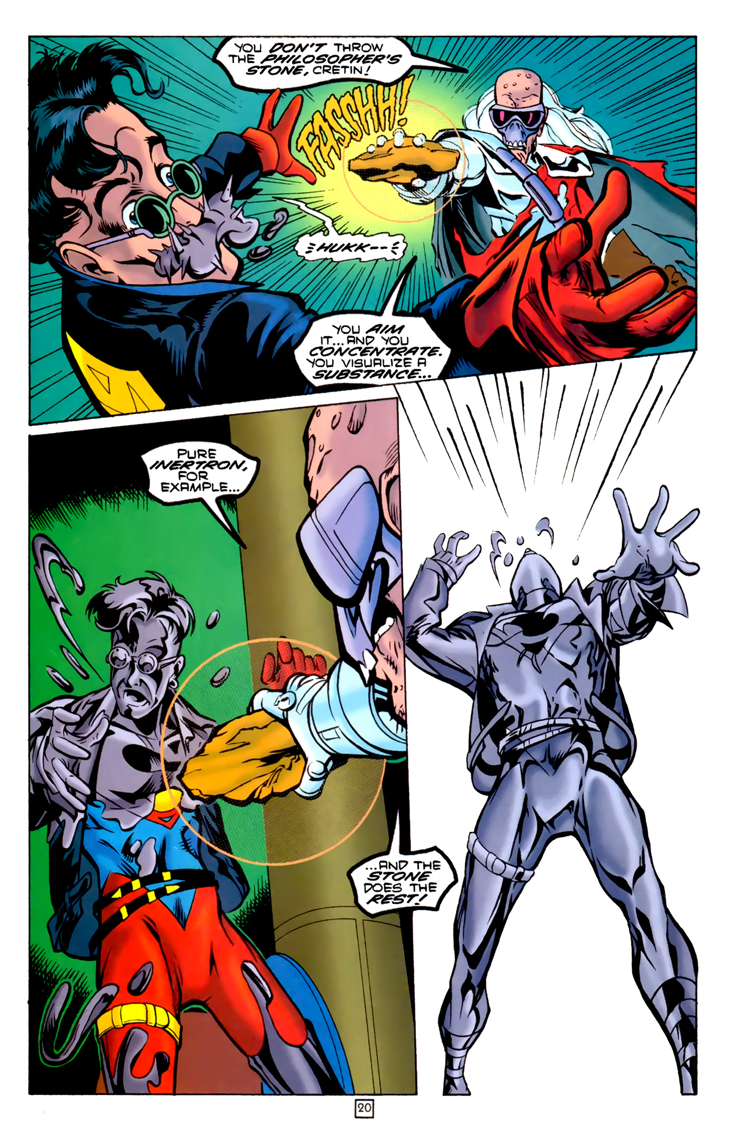 Legion of Super-Heroes (1989) 74 Page 20