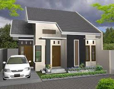 bentuk model rumah sederhana di desa