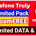 New Vodafone Prepaid Pack Offers Truly Unlimited Data (Rs.21 Only)