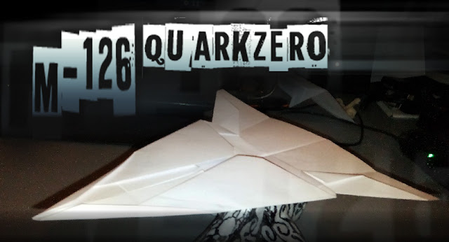 Avion de papel M-126 QuarkZero