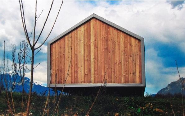 Casas modulares y prefabricadas de dise o refugio de - Refugios de madera prefabricados ...