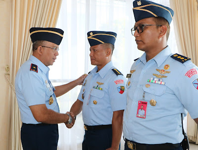 Sumber : Siaran Pers Pangkalan TNI AU Supadio