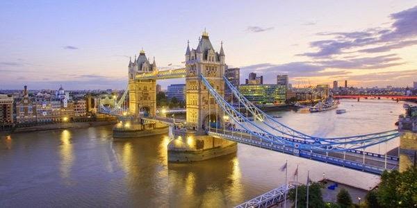 6. टावर ब्रिज, लंदन ( Tower Bridge, London, England)