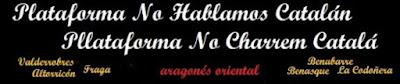chapurriau, no hablamos catalán
