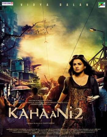Poster Of Kahaani 2 2016 Hindi 700MB DVDRip XviD Watch Online Free Download downloadhub.in