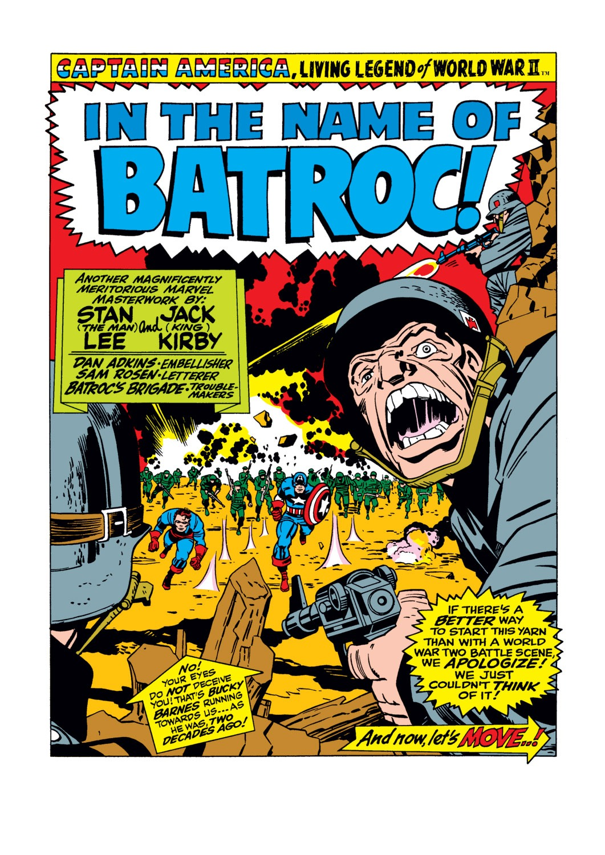 Read online Captain America (1968) comic -  Issue #105 - 2