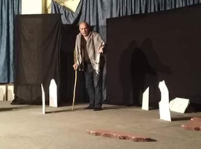 القيامة في لبنان للفنان والممثل والمخرج السوري حسين عرب