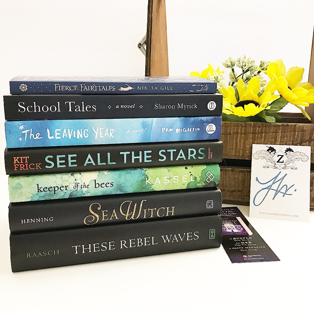 KEEPER OF THE BESS by Meg Kassel (YA/HB) from Entangled Teen - SEE ALL THE  STARS by Kit Frick (YA/HB) from Simon and Schuster