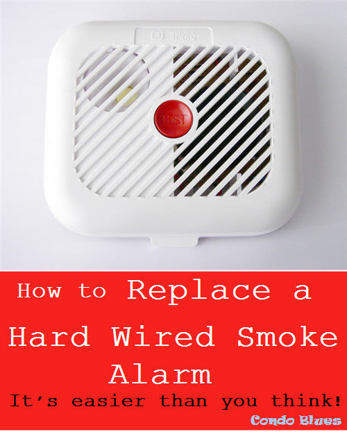 Condo Blues: How to Replace a Beeping Hardwired Smoke Detector