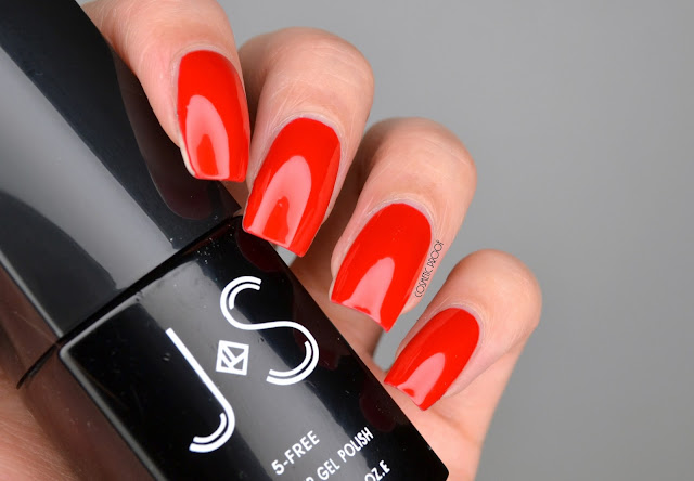 J and S Nails Gel Polish Swatch in SR3 Review