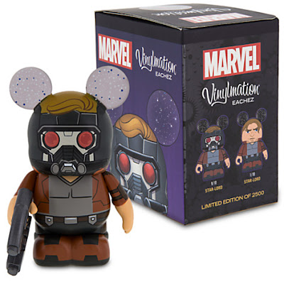 "Guardians of the Galaxy Star-Lord Marvel Vinylmation Eachez 3"" Vinyl Figures by Disney"
