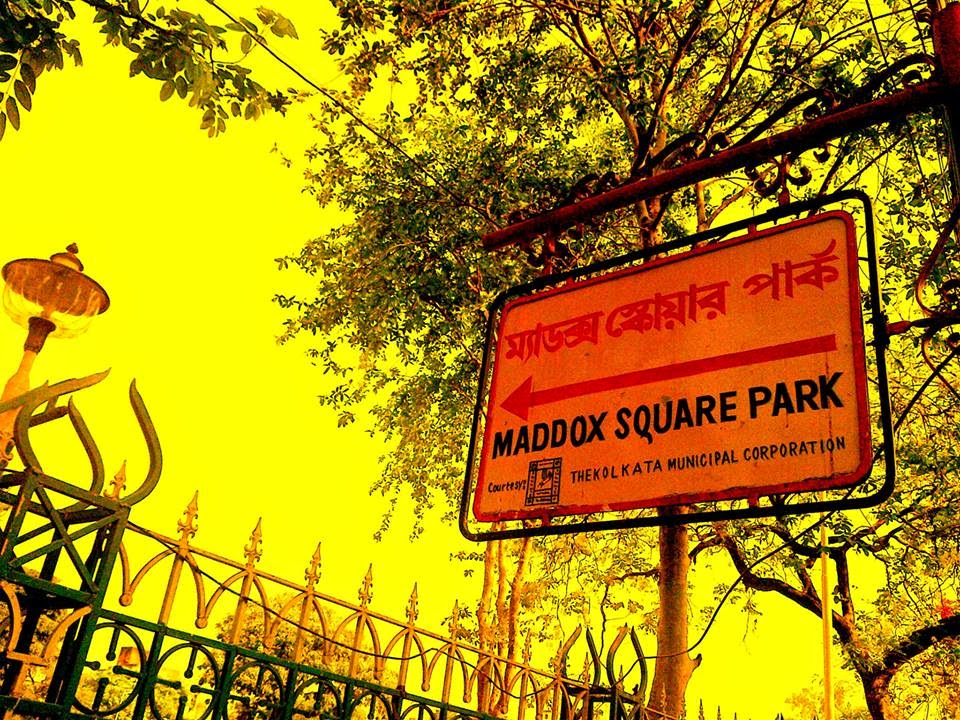 All roads lead to Maddox Square. Source ~ rajgauravdebnath.blogspot.in/