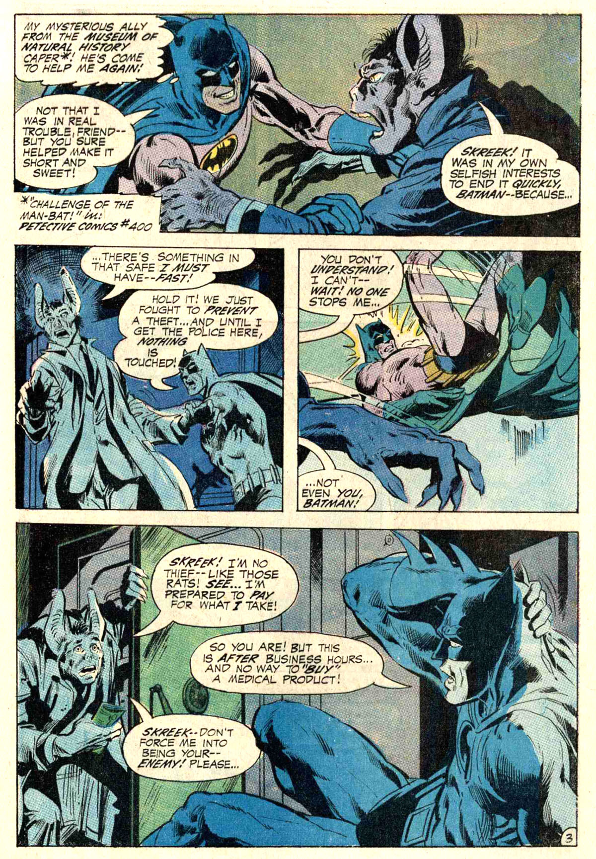 Detective Comics (1937) 402 Page 4