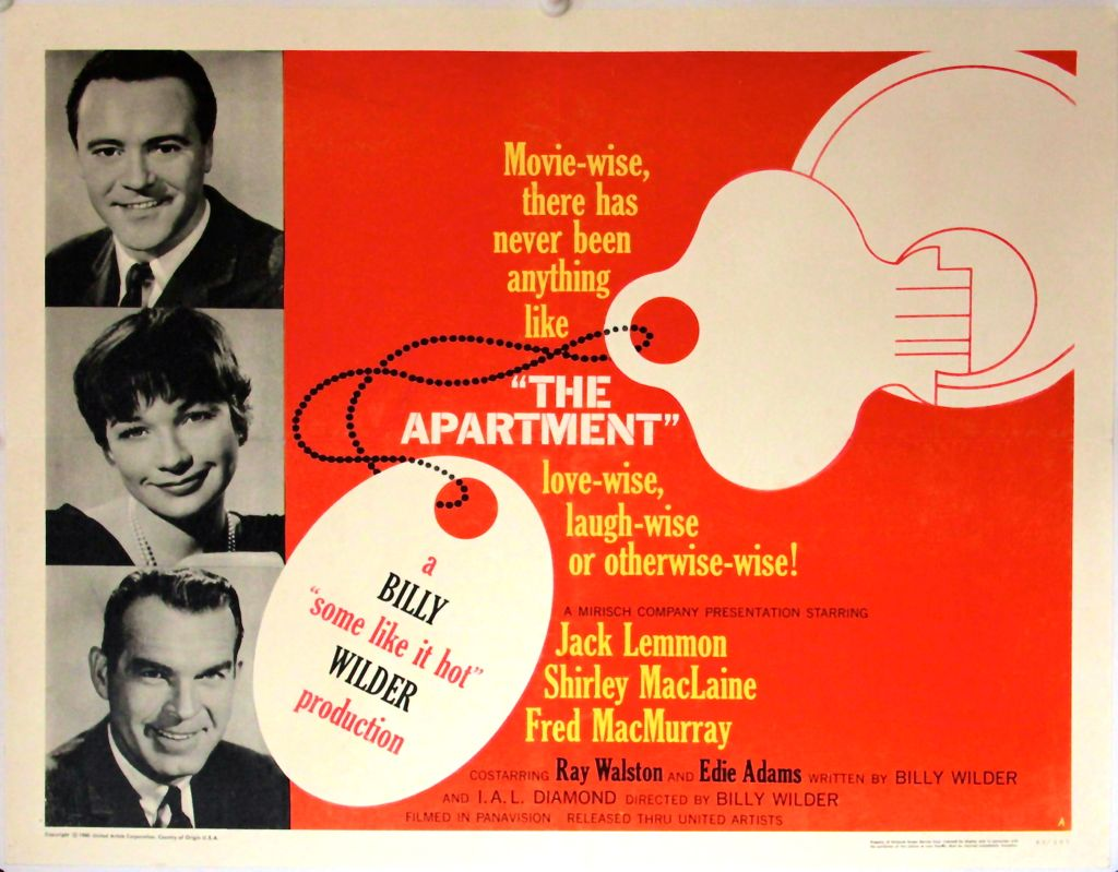 A Person In The Dark National Classic Movie Day The Apartment Is