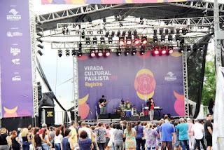 Com espetáculos de qualidade, Virada Cultural em Registro-SP atraiu 15 mil pessoas, nos dois dias de evento