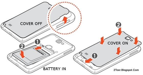 2Toer: Samsung Galaxy Note GT-N7000 Open Cover Casing Insert SIM