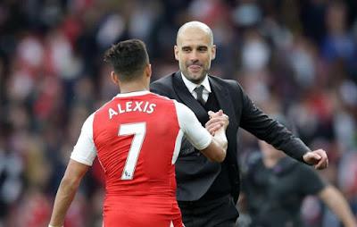 Alexis Sanchez Resmi Pindah Ke Manchester City