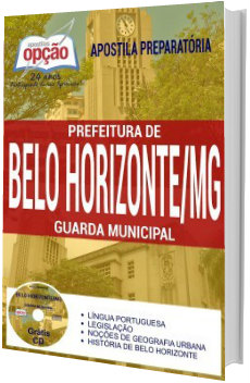 Apostila Concurso Guarda Municipal BH-MG 2018