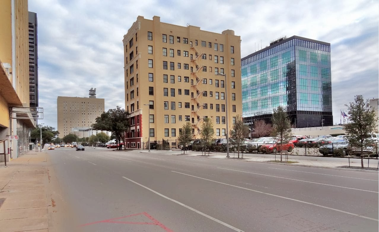 The Beaconsfield Condos on Main Street - View from the West