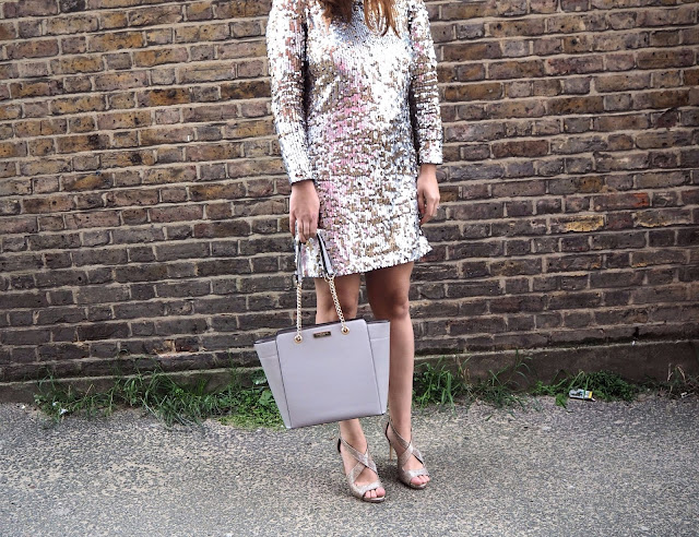 Sparkly Dress with Bag