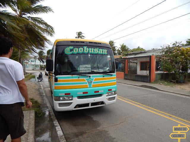 ônibus San Andres